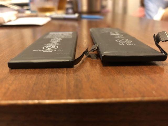 バッテリーの比較2
